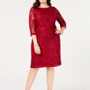 ✨Sparkly Red Holiday Dress (Plus Size)✨